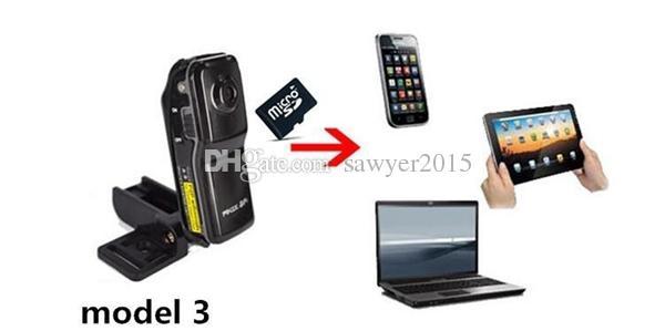 MD81 WiFi Mini DV DVR Wireless IP Sport Camera Digital Video Recorder mini DV MD81 MD81S black with retail box
