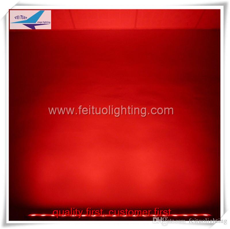 iluminação de palco feituo iluminação 18x3 w rgb levou ao ar livre arruela da parede dmx levou luz ao ar livre