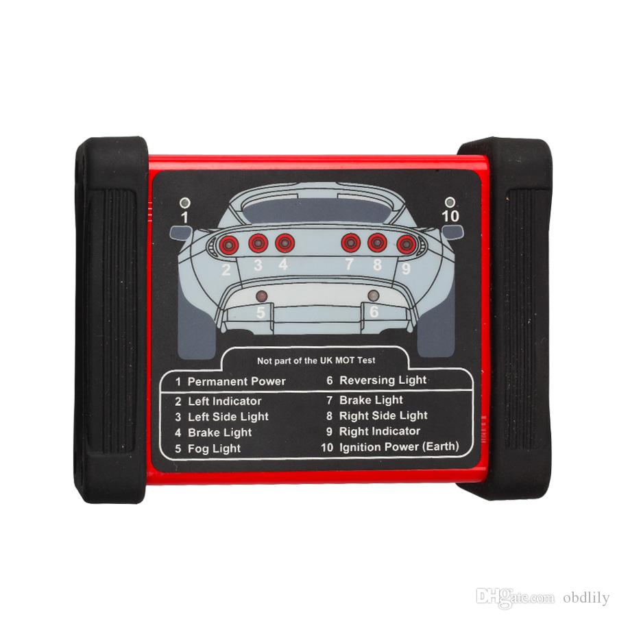 2015 Newest ADS TST Mot Testing Scanner For CAN-BUS And Standard 13 Pin System DHL