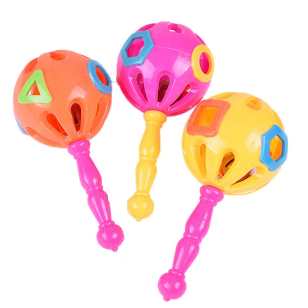 Wholesale Baby Toys : Wholesale cute gift noise maker baby rattles plastic hand