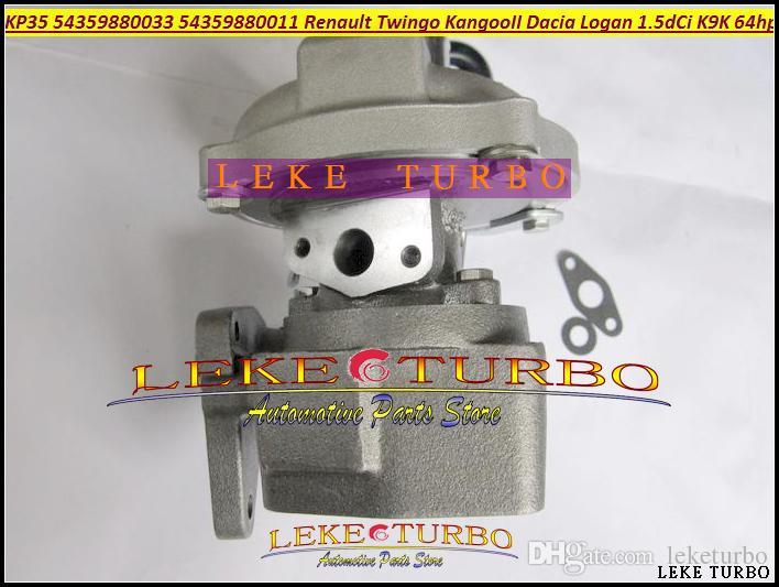 KP35 011 033 54359880011 54359880033 54359700033 8200507852 Turbo Turbocharger for Renault Kangoo Twingo II Dacia Logan 2004- K9K 1.5L dCi