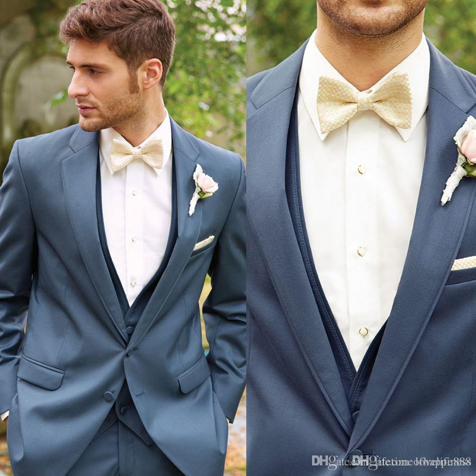 Custom Made Men\'S New Design Tuxedos Hot Party Wears Three Pieces ...