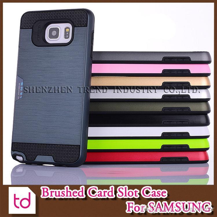 Individuelle Handyhüllen Gebürstetem Card Slot Handy Fall Tpu Pc ...