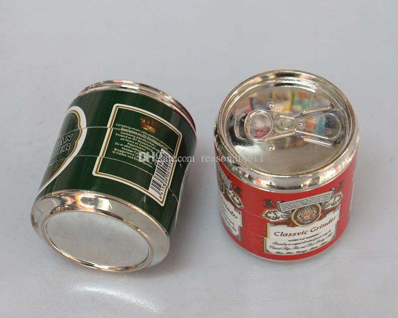 Smerigliatrice a grana grossa Pop in metallo sigarette a secco con erbe aromatiche Smerigliatrici a smerigliatrice con frantumazione a smerigliatrice con SharpTeeth
