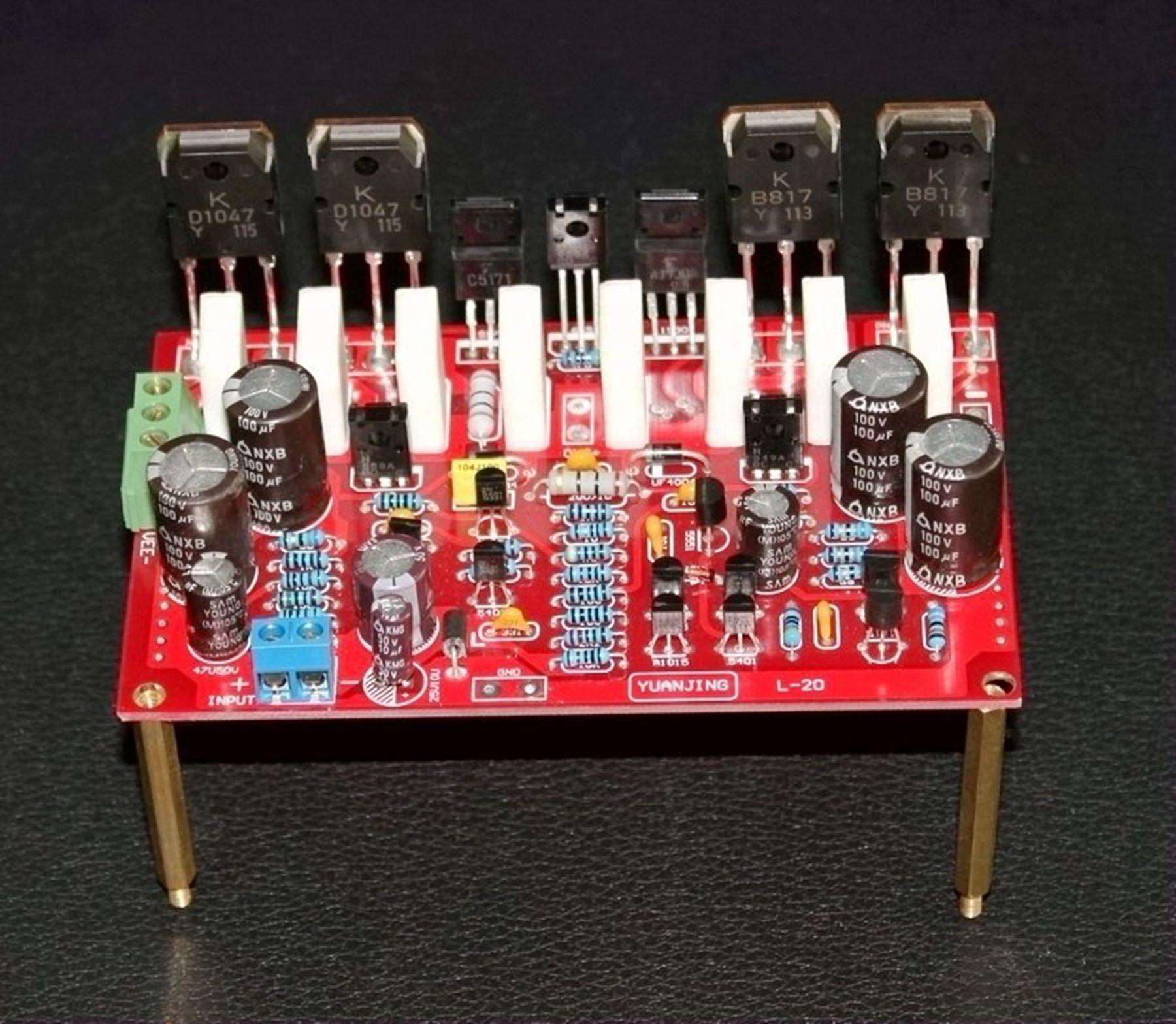 Best Class Ab Amplifier Circuit Board L20 Finished 12v Under 5054
