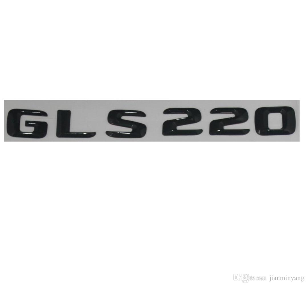 "Gloss Black /"" 220 i /"" Number Trunk Letters Emblem Badge Sticker for BMW 2 Series"
