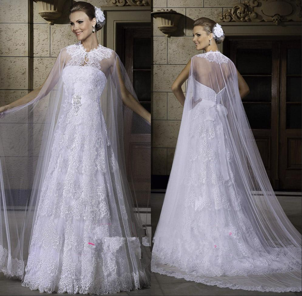 2019 2015 Sexy A Line Wedding Dresses White Strapless Lace