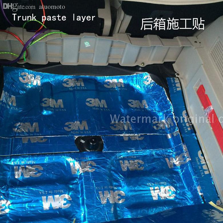 wholesale car sound insulation drop soundboard deadening door car trunk acoustic panels noise. Black Bedroom Furniture Sets. Home Design Ideas