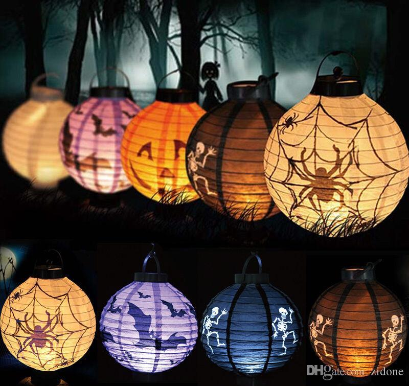 Super Bright Halloween Decorative Lamp Light Pumpkin