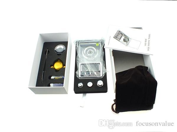 Цифровой Алмазный шкала 0.001 g-20g 0.001 g-30g 0.001 g-50g ЖК-дисплей цифровой карманный весы баланс для ювелирных изделий золото серебро 30 шт. / лот