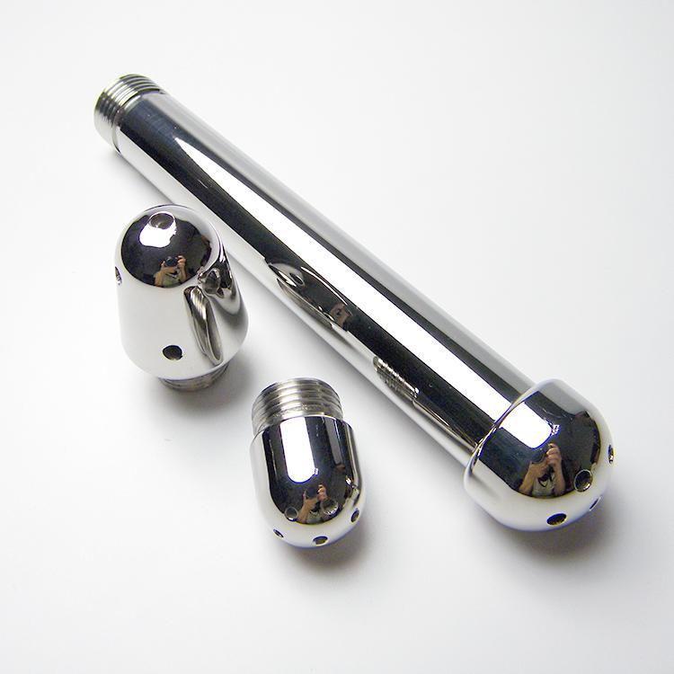 Новейший дизайн алюминиевый флеш анальный суппозиторий с 3 размерами головок Привлекательный Анальная пробка Бондаж БДСМ секс игрушки A646