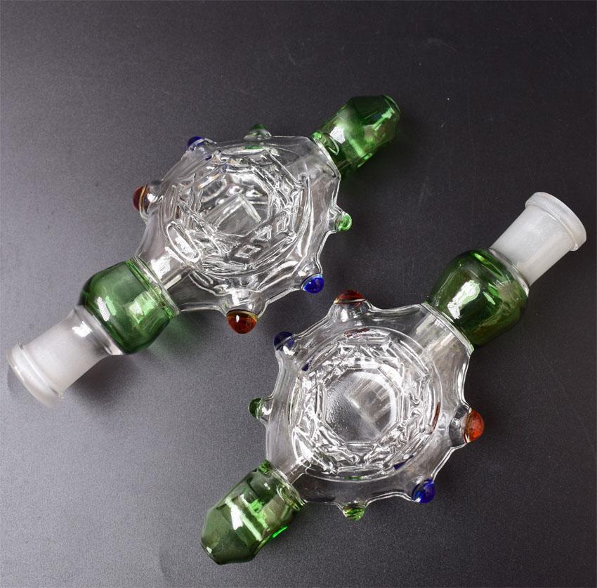 Nuovo 14 millimetri mini Nettare Collector paglia Concentrato Bong Dab paglia tubo di fumo del tubo di vetro Mini