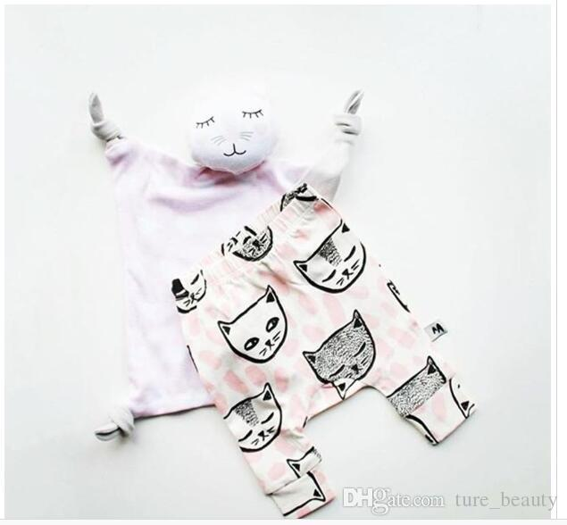 /2016 girls clothing trousers Leggings 6 Design kids INS pants baby Tights clothes kids boys toddlers fashion animal fox tent pants 46