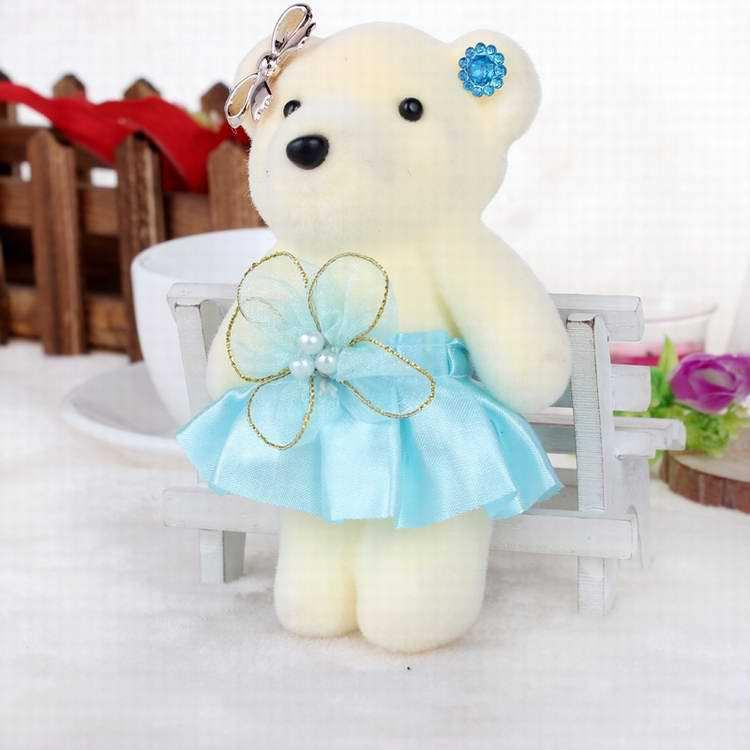 608b464abe4 Manufacture 12cm Teddy Bears Toys Soft Pink Color Wedding Teddy ...