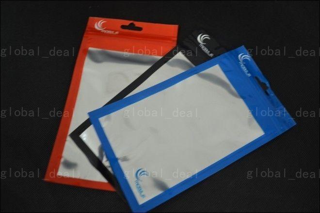 20 * 11.5CM 18 * 10CM واضح + الألومنيوم البلاستيك OPP حزمة البيع بالتجزئة التعبئة والتغليف حقيبة الحقيبة للجوال الهاتف الخليوي الملحقات حالة كابل
