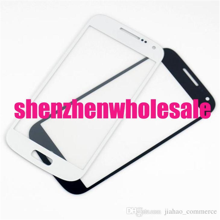 Touch screen di vetro del pannello della lente di vetro anteriore nero bianco blu / lo Smart Phone, il telefono cellulare, il telefono di androide Trasporto libero