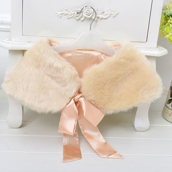 2015 baby poncho faux fur coat kid girls winter wear thick outwear childrens boutique christmas clothing shawls wraps cape for party dresses