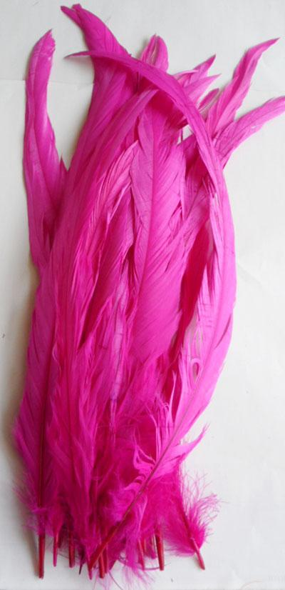 Rooster tail DIY feather Clothing accessories jewelry accessories / wedding supplies / performance necessary 30-35cm and 35-40cm