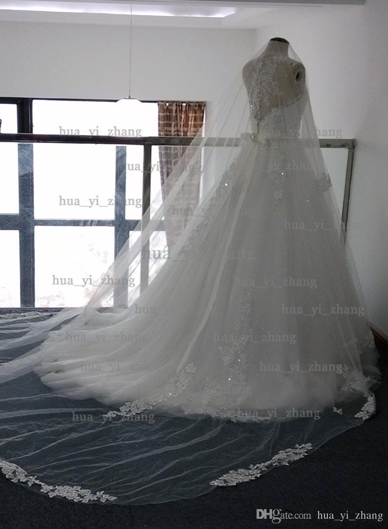 2015 Vestido Noiva Veluz real image actual picture wedding dress
