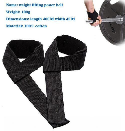 Neu kommen / Pair Gewicht-anhebende Hand-Handgelenk-Bar-Stützgurt-Klammer-Unterstützung Gym Straps Gewichthebenverpackung Body Building Grip-Handschuh an