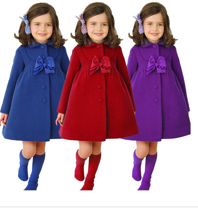 2015 Autumn Princess Jacket New Winter Coat Girls Singles ...