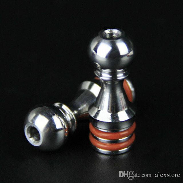 100 Stücke Fünf Pfannen 510 Drip Tipps Edelstahl Mundstück fit 5 Pawns RDA Zerstäuber RBA Kayfun Lite Plus Edition Kayfun 4 Acessorios DHL