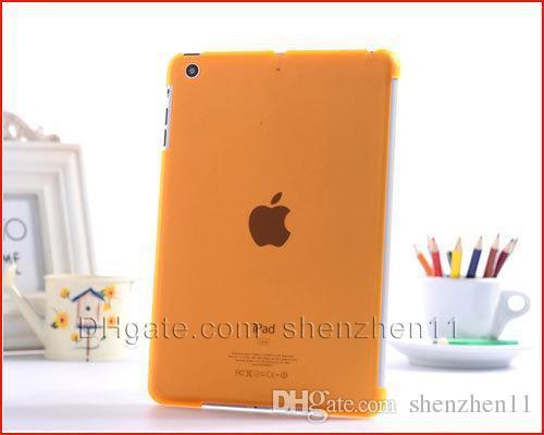 Custodia rigida in cristallo trasparente con cover Smart Cover iPad mini / mini 2 impermeabile antiurto colorato PCC007