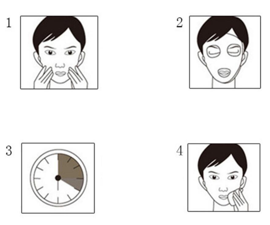 24K Golden Mask Peel Off Mascarilla facial Cuidado facial Máscaras faciales Cuidado de la piel Mascarilla reafirmante lifting facial