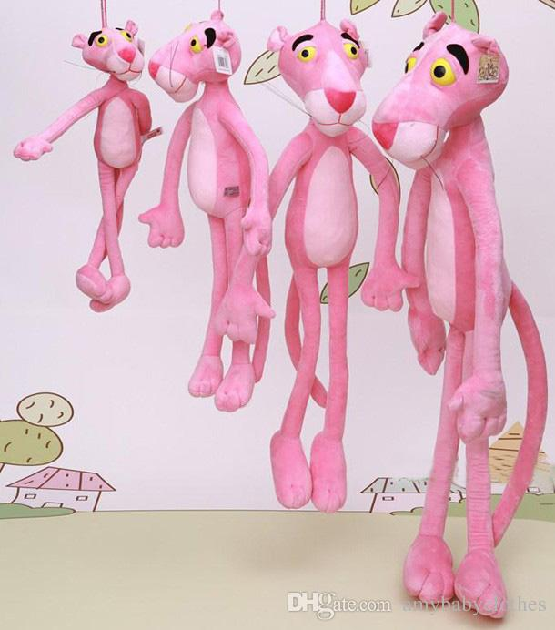 Toys Gifts Child Gift Cute Naughty Pink Panther Plush Stuffed Doll Toy Home Decor 40CM Wholesale and Drop Shipping