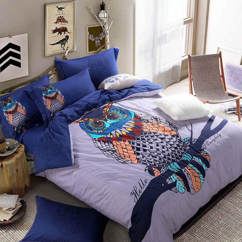 Acquista harry potter hedwig cotone piumino set biancheria da letto biancheria da letto - Set letto matrimoniale ...