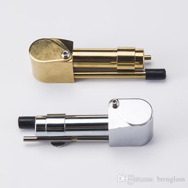Pipa in metallo Proto Pipa Specialità in colore dorato Pipa in metallo Proto 50 pezzi prezzo all'ingrosso