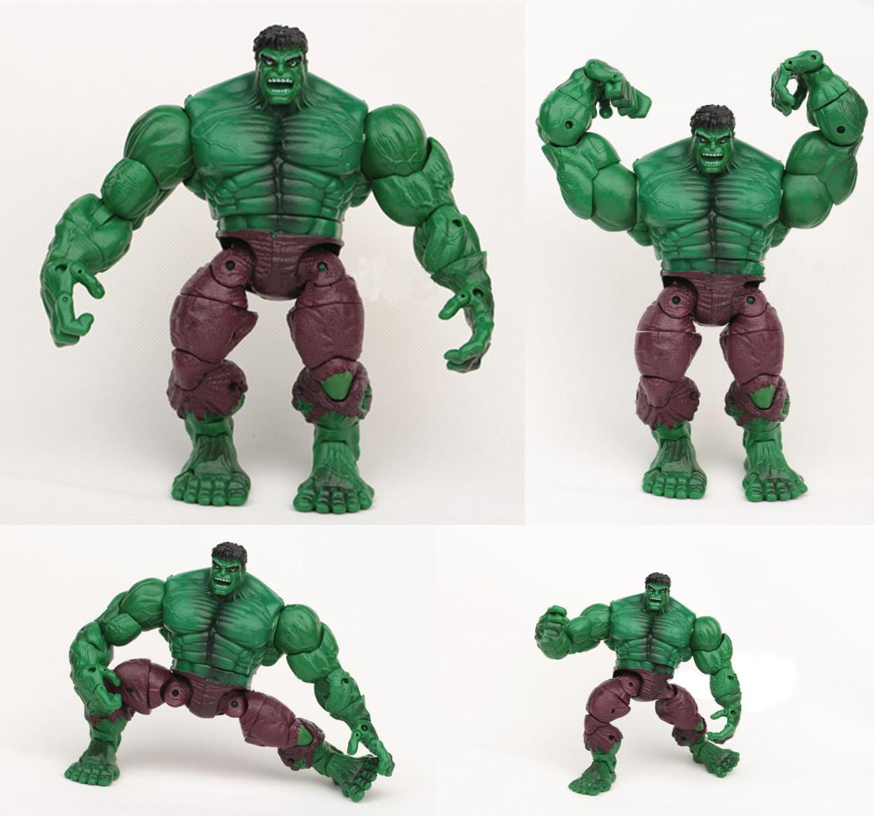 2015 Marvel Avengers 8 Hulk Action Figure Toys Can Make Different
