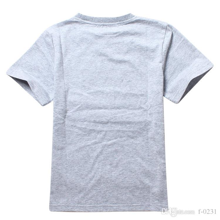 Children Cartoon game Five Nights at Freddy's short sleeve cotton Tshirt for boys girls TM