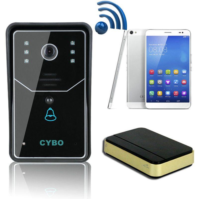 Wireless 3g Wifi Ip Video Door Phone Intercoms Doorbell Ip Door Camera Security System Wireless Unlock Android Ios App Motion Detection Video Entry Phones ...