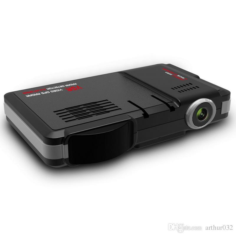 SQ680S 3 en 1 VGR Detector de radar GPS por video X.K.KA Banda Google Map 3 ejes G-Sensor 720P Lente de alta definición DVR para automóvil para visión nocturna E-Dog