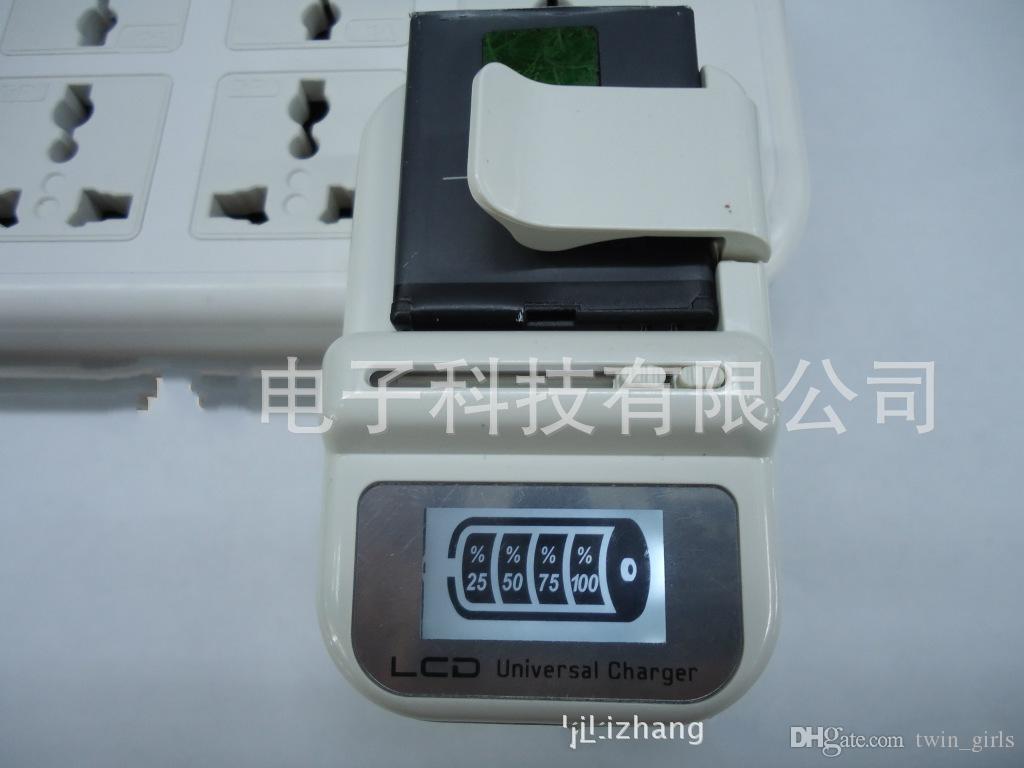 ذكي LCD العالمي لشحن البطاريات USB شاحن الهاتف الخليوي للهواتف النقالة
