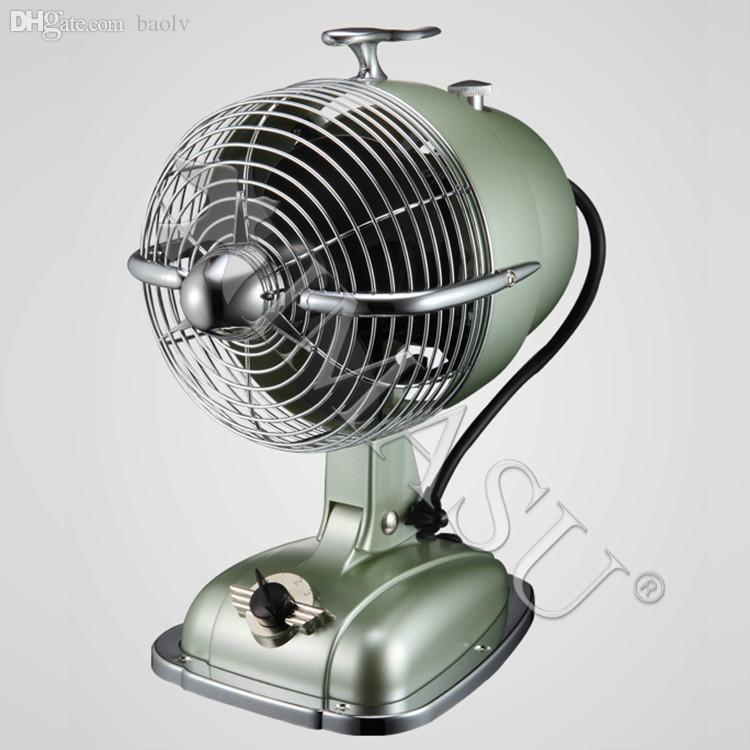 Wholesale British Aircraft Head Retro IMASU FHM Desktop Fans Nationwide  Shipping Antique Fan Fans Channel Fan Motor For Radiator Fan Veils Belly  Dance ...