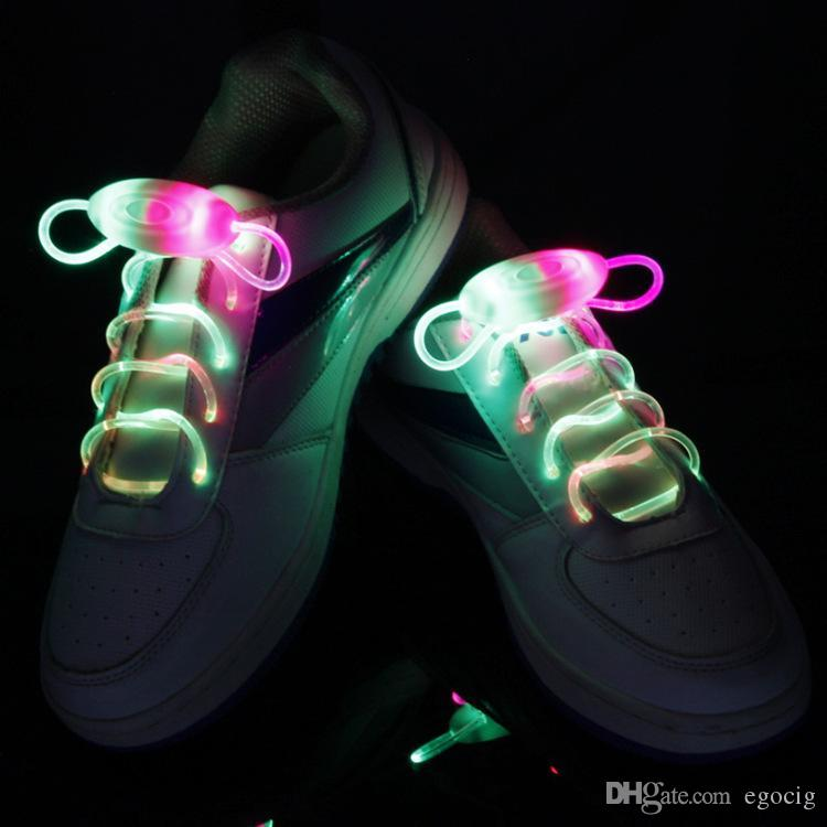 Shoes Humorous 120cm Fashion Sport Luminous Shoelace Toys Shoe Accessories Glow In The Dark Shoelace Night Running Gift At Any Cost Shoe Accessories