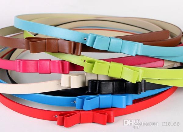 Sconto del 10% Fedex UPS Ship Bambini Cinture in pelle bambini Bambini Skinny PU Cinture Bambino fibbia ad ago Cinture Ragazze Dress Belts