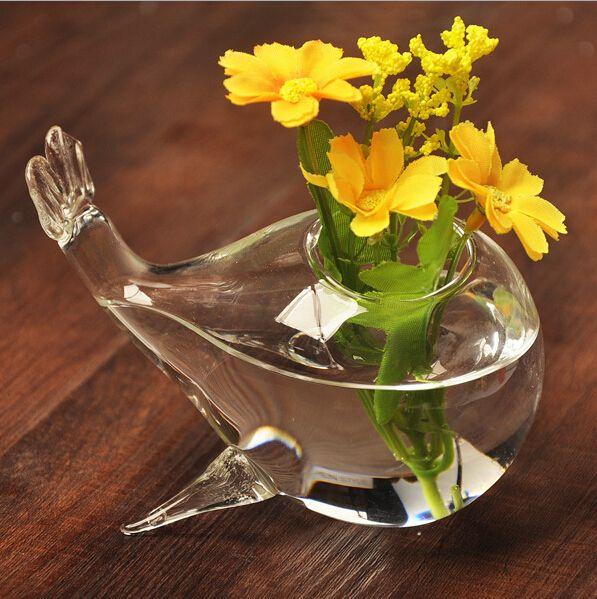 ... Glass vases wholesale Wedding Glass vases DIY fish shape flower vases home decoration flower pots planters & Glass Vases Wholesale Wedding Glass Vases DIY Fish Shape Flower ...