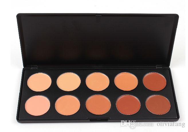 Make-up-kit 10 Farben Concealer Palette bronzer highlighter make-up kit natürliche kosmetische shading pulver langlebig kontur palette Concealer