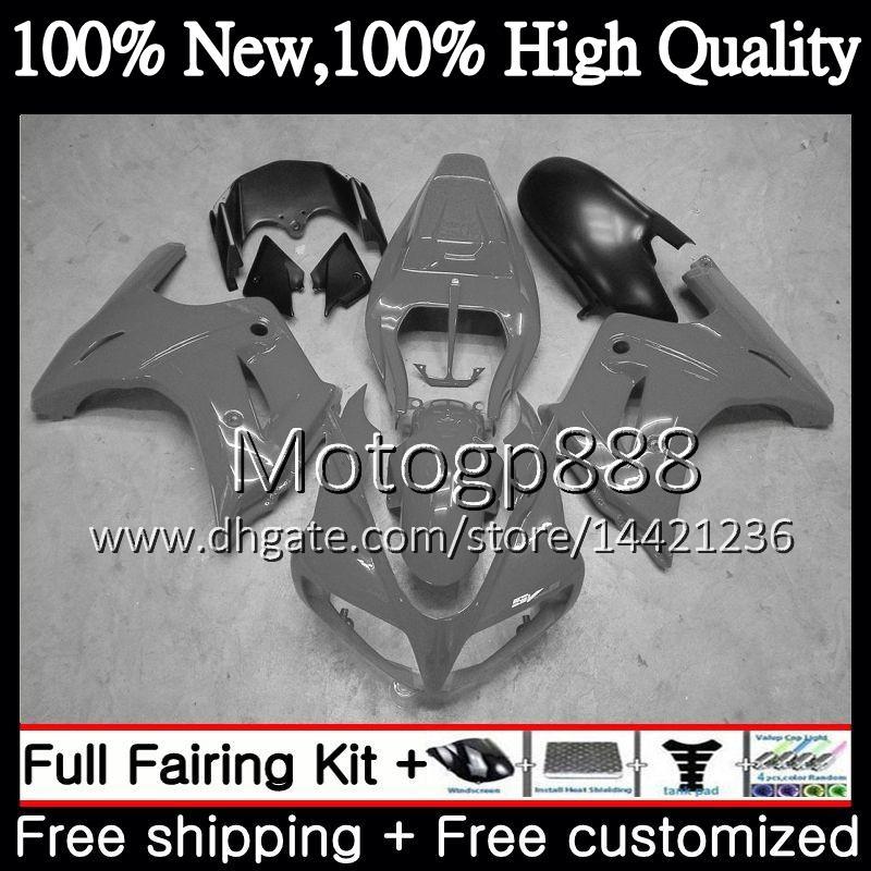 Обтекатель кузова для SUZUKI SV1000 SV1000S 03 04 05 06 07 08 37PG12 SV 1000S 650S SV650 SV650S 2003 2004 2005 глянцевый серый 2006 2007 2008