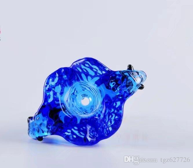 Двойной Динозавр Bubble Head, Оптовые Стеклянные Бонги Нефти Горелки Стеклянные Трубы Водопроводные Трубы Стеклянные Трубы Нефтяные Вышки Курение Бесплатная Доставка