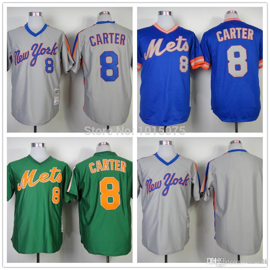 2016 New 2016 New York Mets Jerseys 8  Gary Carter Jersey Pullover ... f923ffa91aed