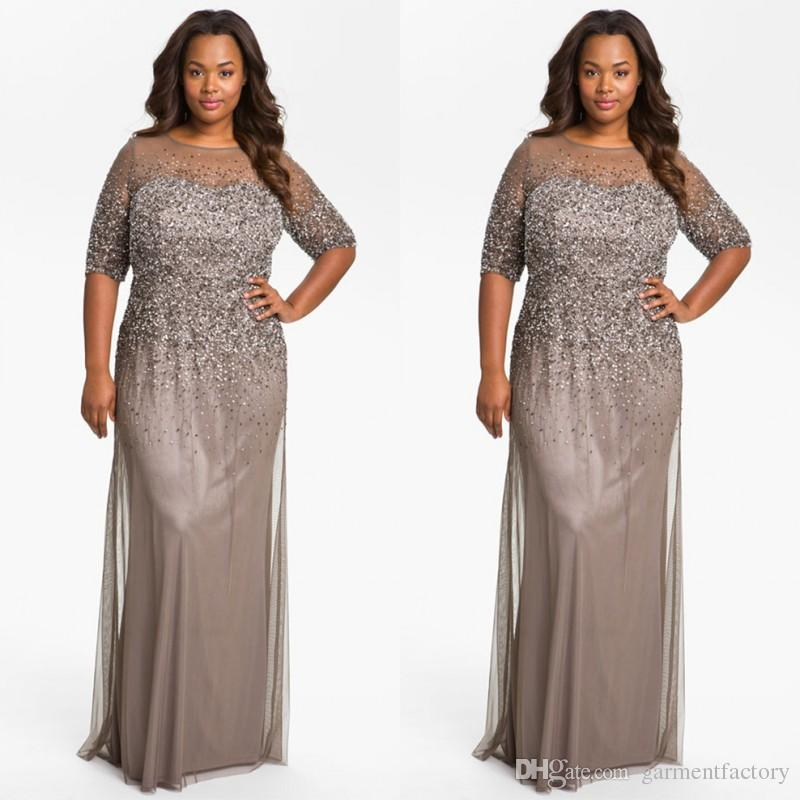Mother of the Bride Dresses in Plus Size