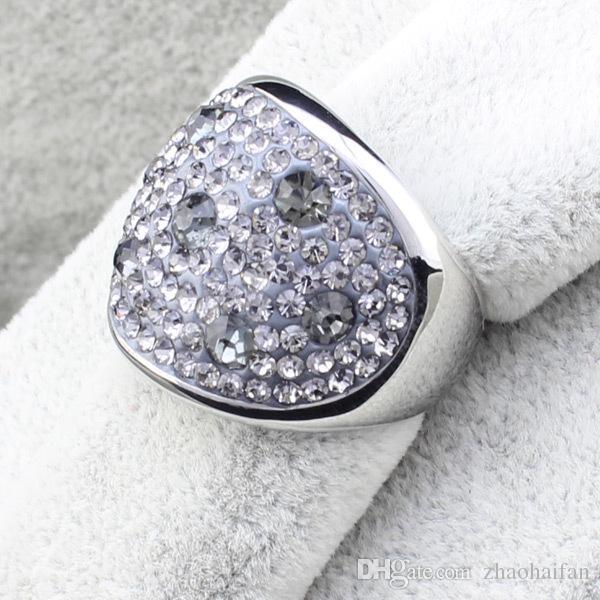 ZHF bijoux deux bagues de mariage de couleur pour les hommes et les femmes simulées bague en diamant Haute qualité mode tendance cadeaux de vacances