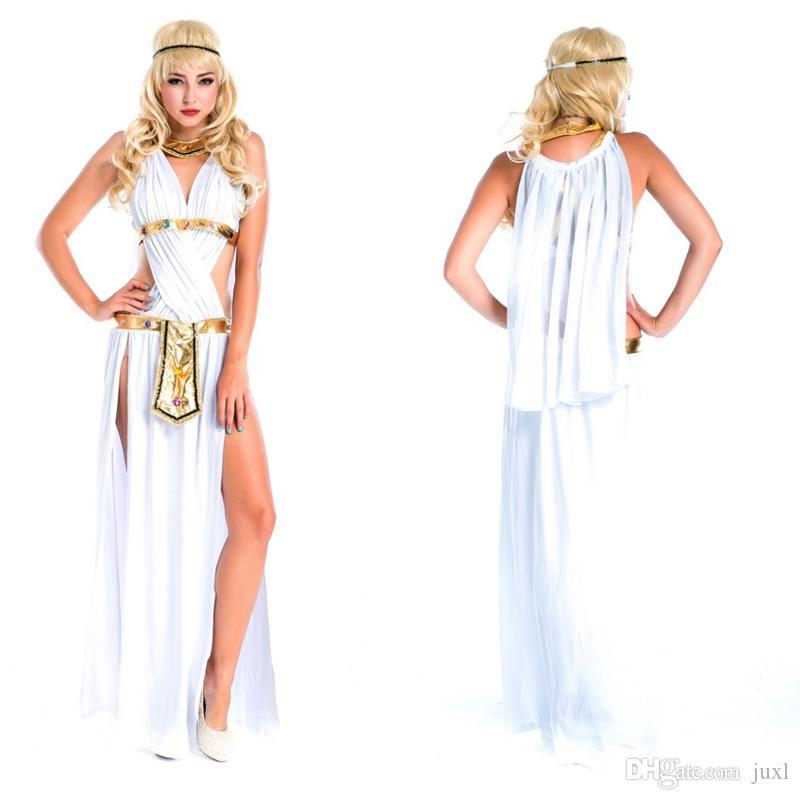 Compre 2018 Nuevos Adultos Egipto Disfraz De Señora De Las Mujeres Trajes  De Cosplay De Halloween Fiesta De Disfraces De Halloween Decoración De Disfraces  A ... 320d110ee055
