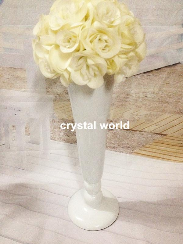 Tall Wedding Flower Vase Vases Wedding Centerpieces Brown Candle
