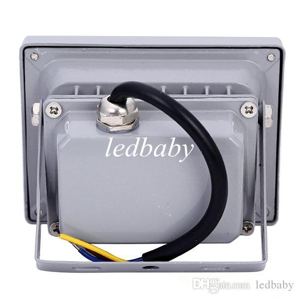 بواسطة فيديكس محفظة 10W RGB الكاشف 85-265V 120 درجة للماء عالية الطاقة الصمام لمبات توفير الطاقة ضوء الفيضانات