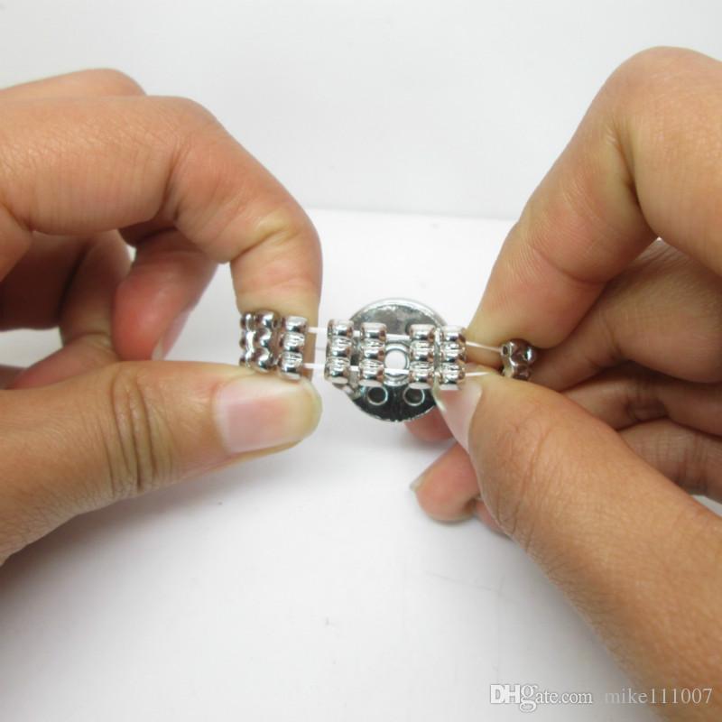 NOOSA серия эластичное кольцо DIY сплава частей Нидерланды кнопка кольцо с регулируемым кольцом оснастки нижней DIY ювелирных изделий